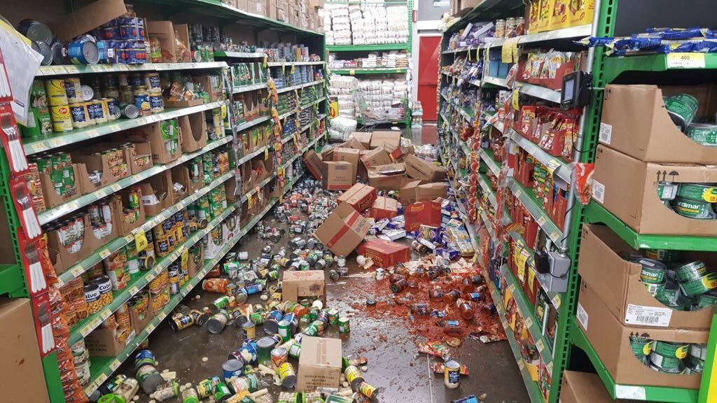 Un sismo de 6,3 grados sacudió Costa Rica