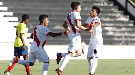Sudamericano Sub 15: Perú empató ante Ecuador y sigue invicto en el torneo