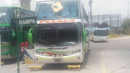 Bus suspendido por el MTC circulaba con placa falsa