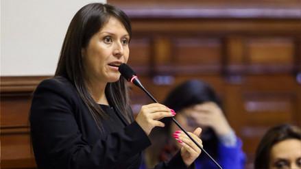 Yeni Vilcatoma presentó nueva denuncia constitucional contra el Fiscal de la Nación