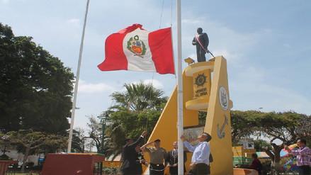 Autoridades de Reque rindieron homenaje a héroe Diego Ferré
