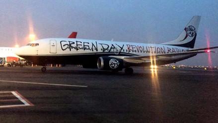 Green Day ya llegó a Lima para su concierto