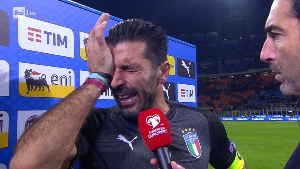 Italia no irá al Mundial Rusia 2018 tras empatar con Suecia sin goles
