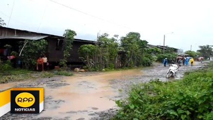 Fuertes lluvias ocasionaron daños en sectores del distrito de Luyando