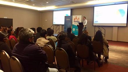 Familia Punto Com organiza primer taller de tecnología y educación en Cajamarca
