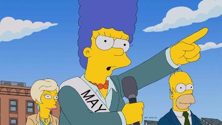 Los Simpson comparan a asesora de Trump con propagandista nazi