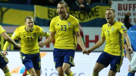 Johansson, autor de gol de la clasificación sueca, casi descartado para Rusia