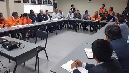 Trujillo: Autoridades del COER se reúnen tras declaratoria de emergencia