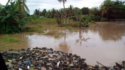 Indeci reportó dos personas fallecidas por inundación del río Cumbaza