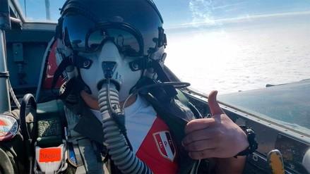 La Fuerza Aérea mostró su apoyo a la Selección Peruana con una foto desde el aire