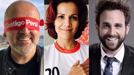 Facebook | Famosos alientan a la bicolor para clasificar al Mundial