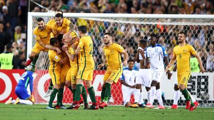 Australia derrotó a Honduras y clasificó a su quinta Copa del Mundo