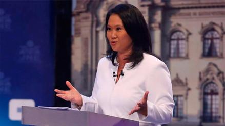 Defensa de Keiko Fujimori pidió concluir la investigación de la Fiscalía por cocteles