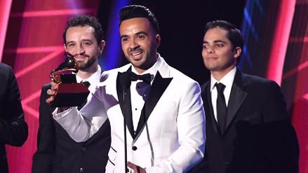 'Despacito' se llevó el Grammy Latino a la grabación del año
