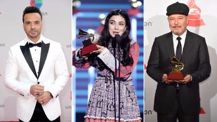 Latin Grammy   Conoce la lista de ganadores de la pregala