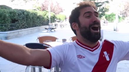 Youtuber Jorge Cremades celebró la clasificación de Perú con divertida parodia