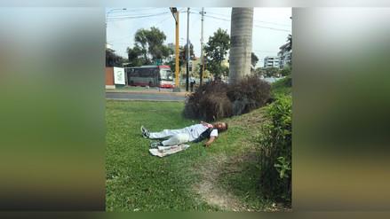 Hinchas amanecieron durmiendo en las calles tras clasificación de Perú