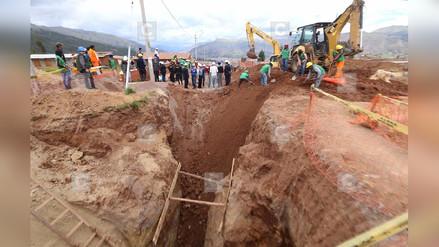 Deslizamiento de tierra sepultó y mató a obrero en Chota