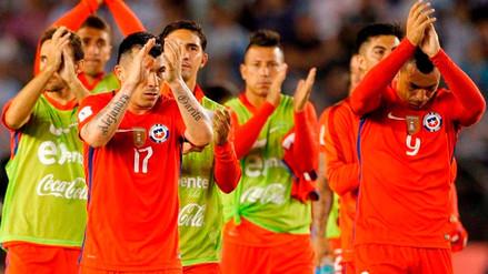 Selección de Chile felicitó a la Blanquirroja: