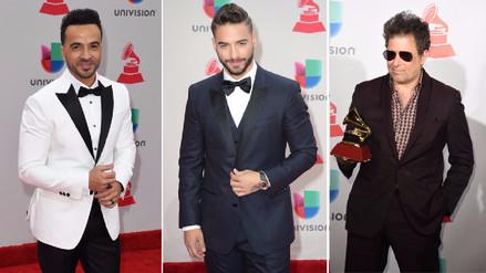 Latin Grammy | Famosos desfilaron por la alfombra roja