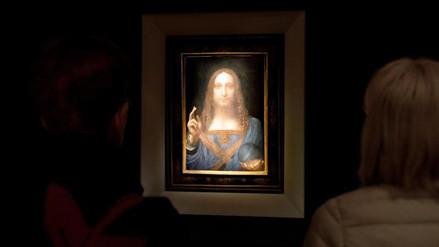 Subastan un cuadro de Da Vinci por $450 millones, un récord mundial