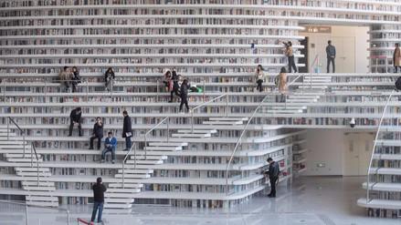 China inauguró biblioteca con capacidad para 1,2 millones de libros