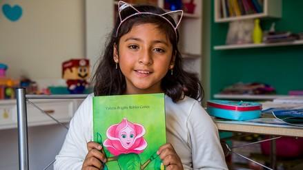 Niña de 7 años presentará su segundo libro en Trujillo
