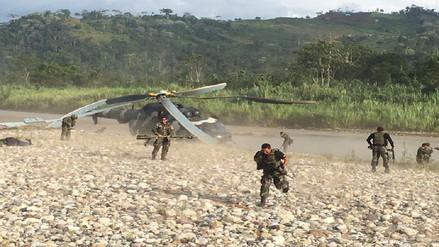 Aterrizaje forzoso de helicóptero en el Vraem dejó tres heridos