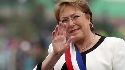 La presidenta de Chile dijo que su sucesor deberá mantener las reformas de su Gobierno