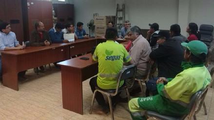 Trujillo: Tras reunión con funcionarios suspenden huelga del Segat
