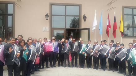 Cajamarca sede del IV encuentro internacional de Poderes Judiciales