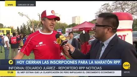 Miles de competidores se inscriben en la Maratón RPP 2017