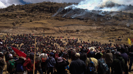 Protestas sociales: el 73% de los peruanos coincide que es la única forma de diálogo con el Estado