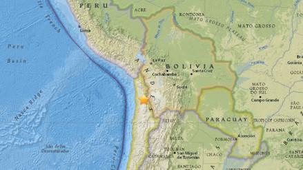 Un sismo de 5,0 grados sacudió dos regiones del norte de Chile