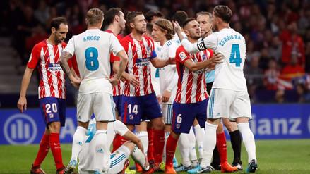 Real Madrid empató con el Atlético en el primer derbi del Wanda Metropolitano