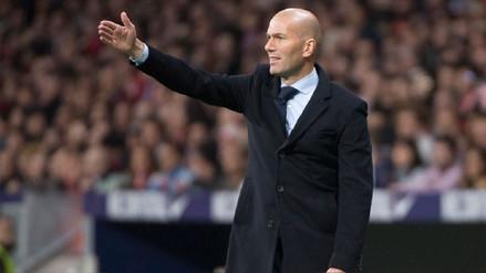 Zidane sobre la ventaja del Barcelona: