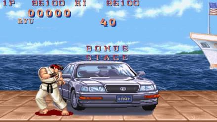 Recrean en realidad  virtual el Bonus Stage de Street Fighter II