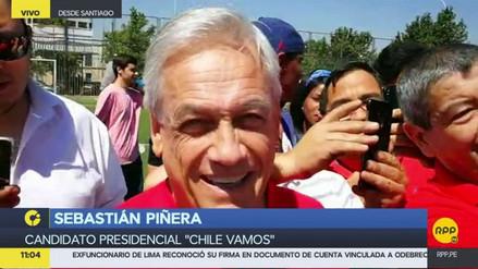 """Sebastián Piñera a RPP Noticias: """"Sé que PPK está haciendo un gran trabajo"""""""