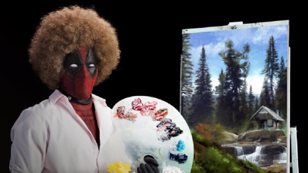 Deadpool 2 estrena teaser en honor a extravagante pintor de los 80