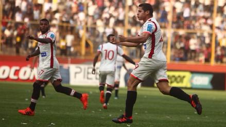 Universitario empató 2-2 con Cristal en el Estadio Monumental