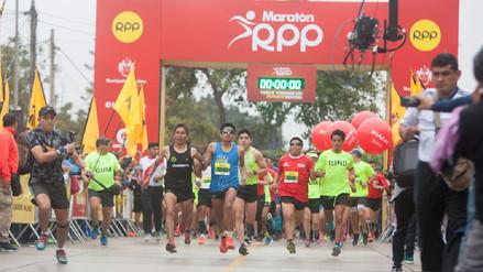 El atleta Raúl Pacheco ganó la 21k de la Maratón RPP 2017