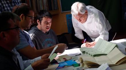 Sebastián Piñera votó esta mañana en unas elecciones generales sin incidentes