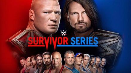 WWE Survivor Series   Las peleas del evento que enfrenta a RAW y SmackDown