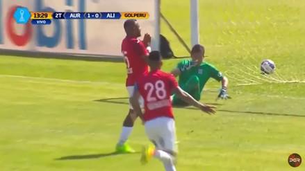 Alianza Lima perdió ante Juan Aurich y se aleja de la punta del Clausura