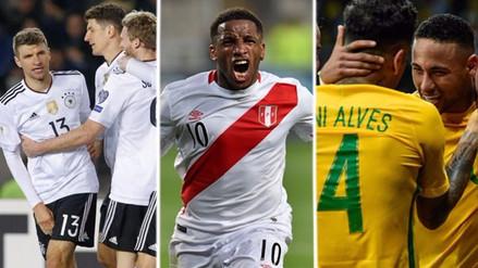 Las 7 selecciones que Perú ha enfrentado en anteriores mundiales