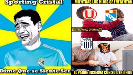 Universitario y Cristal protagonizan memes tras empatar por el Torneo Clausura