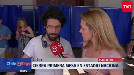 Un votante intentó robarse un ánfora electoral en las Elecciones en Chile
