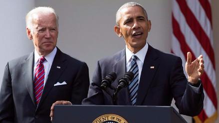 Obama saluda a exvicepresidente por su cumpleaños con un divertido meme