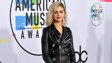 Selena Gómez sorprendió con cabello rubio