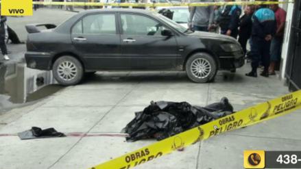 Asesinaron a balazos a un hombre y a su hija en Santa Anita